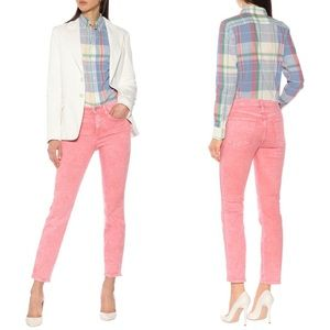 NEW • 3x1 • Stevie Straight Leg Jeans Bubble Gum